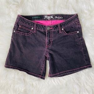 Rock 47 by Wrangler Ultra Low Rise Shorts